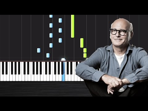 Ludovico Einaudi - Una Mattina (Intouchables) - Piano Tutorial By PlutaX - Synthesia - Peter PlutaX