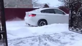 Bmw X6 M White Snow