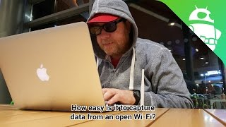 How easy is it to capture data on public free Wi-Fi? - Gary explains