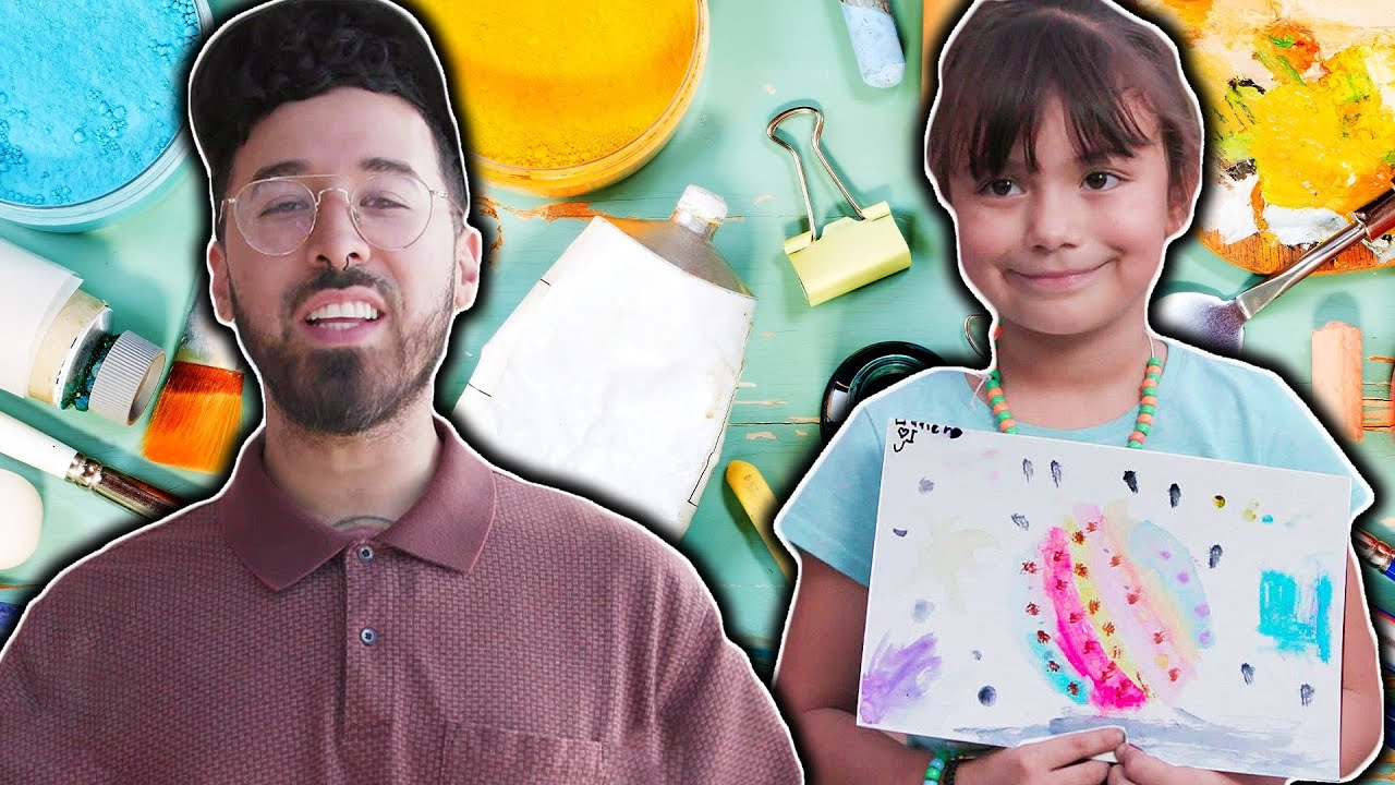 Curly Finds Out How Art Is Transforming Kids Lives // Presented by BuzzFeed & State Farm thumbnail