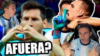 SUSCRIBITE A IAN LUCAS!! https://youtube.com/Ianlucasoficial?sub_confirmation=1  HAZ VIDEOS CONMIGO: https://www.youtube.com/FranMG/join  SUSCRIBITE a mi NUEVO CANAL!! https://www.youtube.com/FranMG10?sub_confirmation=1  Las mejores jugadas y goles del partido Argentina vs Paraguay 1-1 Copa América 2019 con goles de Messi de penal y de Sanchez.  Like & Suscribite! :D http://www.youtube.com/user/TheFranMG?sub_confirmation=1  Seguime en mi Instagram: http://instagram.com/fran Seguime en Twitter: http://twitter.com/Fraaanchuuu Dame like en Facebook: http://facebook.com/TheFranMG  Reacciones de amigos al Paraguay vs Argentina 1-1 Copa América 2019.