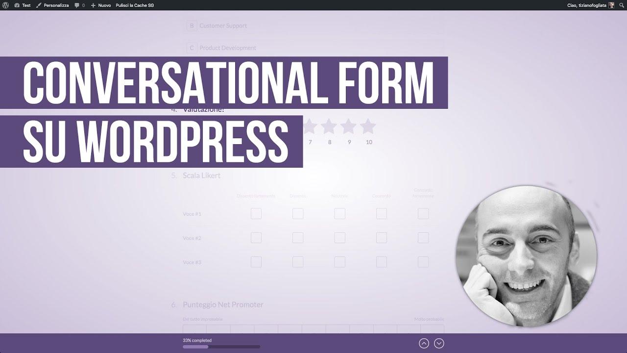 Conversational Forms su WordPress con WPForms
