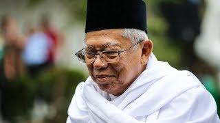Ma'ruf Amin: Mahfud MD Sampaikan Mendukung Pak Jokowi dan Saya