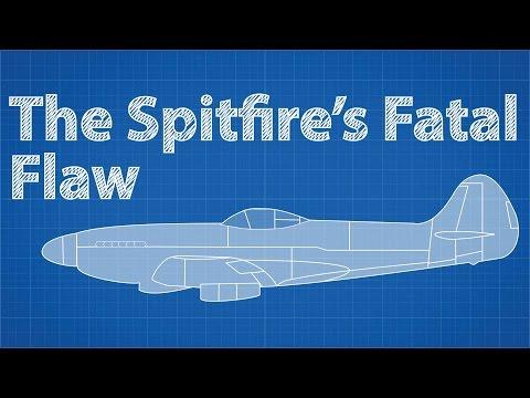 Fatální závada stíhačky Spitfire