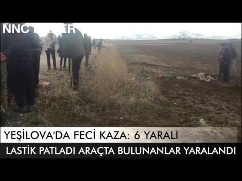 Yeşilova'da Feci Kaza: 6 Yaralı