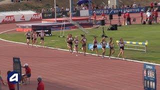 Angers 2019 : Finale 1500 m Juniors F (Bérénice Fulchiron en 4'27''27)