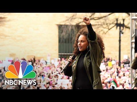 Alicia Keys: 'No Hate, No Bigotry, No Muslim Registry'   NBC News