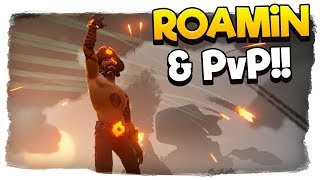 Sea of Thieves - 🔴We're Live - Roamin & PvP - We WILL FIND THAT CRATE!