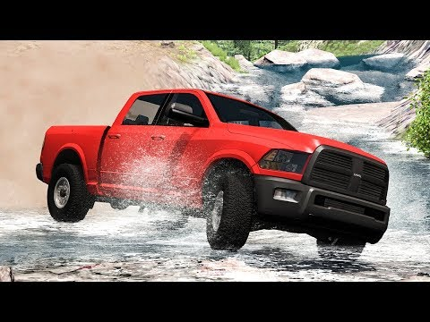 Off Road Crashes #19 - BeamNG DRIVE | SmashChan