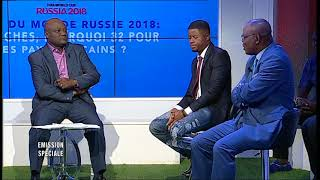 Debate on the Fifa 2018 World Cup