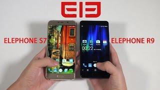 ElE Elephone R9  VS Elephone S7