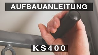 SPORTSTECH KS400 Klimmzugstange - Aufbauanleitungconstruction/structure/estructura/struttura