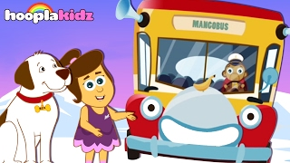Wheels on the Bus Adventures by HooplaKidz | Finger Family Rhymes + Wheels on The Bus Songs & More