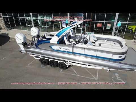 2021 Manitou 27 LX RFX Dual Engine in Madera, California - Video 2