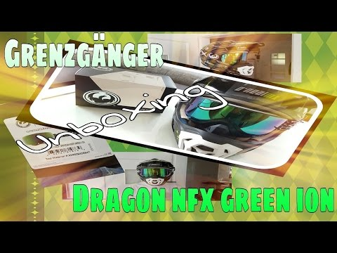 Unboxing Special Edition Grenzgänger Dragon NFX GREEN ION - MeetUs
