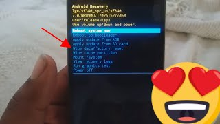 ** How To Access Boost Mobile Lg Stylo 3 Recovery Mode Hard Reset Menu **