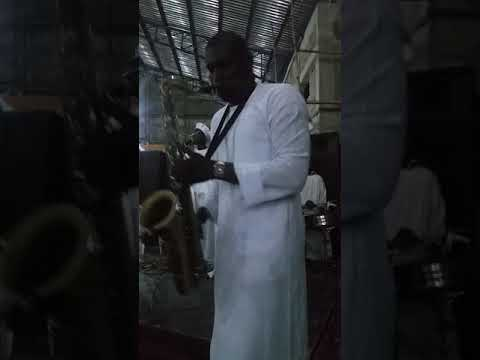 Tope Adekoya on Sax