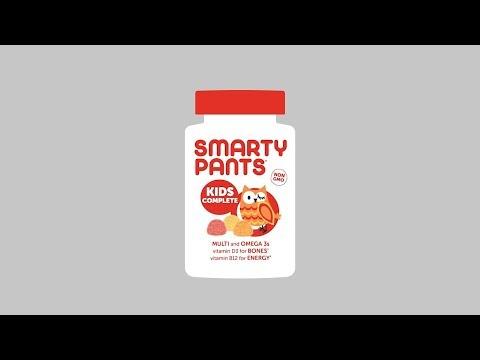 SmartyPants, Kids Formula, Multivitamine und Omega 3 für Kinder, Erdbeere-Banane, Orange und Zitrone, 120Fruchtgummis