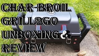 Char-Broil Tru Infrared Gas Grill Review ~ Grill2Go X200 Portable Propane