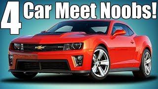 4 Noobs You'll Find At Car Meets!