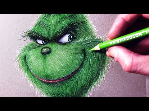 Let's Draw THE GRINCH - FAN ART FRIDAY