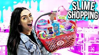 SHOPPING FOR SLIME SUPPLIES AT TARGET!! (i got literally everything)