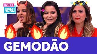 Maiara E Maraisa REVELAM Como é Um GEMIDÃO SERTANEJO 🗣 | Lady Night | Humor Multishow