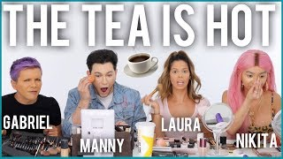 THE ULTIMATE 4 WAY GET READY WITH US! THE SQUAD TELLS ALL!