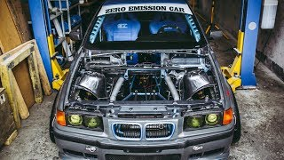 Elektryczne auto do DRIFTU | BMW E36 - Pierwsze w Europie!