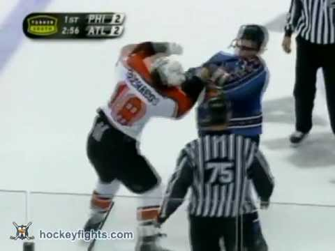 Garnet Exelby vs. Mike Richards
