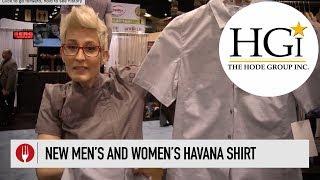 Mens And Womens Havana Servers Shirts | Chef Works