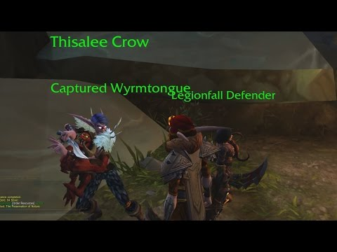 Thisalee Crow - Patch 7.2 Follower Quest