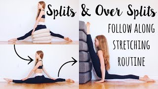 Stretches for Splits and Oversplits