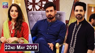 Salam Zindagi with Faysal Qureshi - Asim Mehmood & Fiza Shoaib - 22nd May 2019