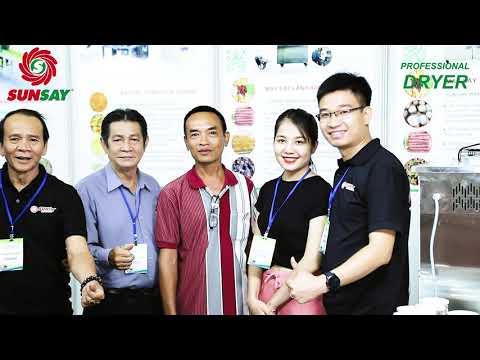 Máy sấy lạnh sấy thực phẩm cao cấp tại hội chợ triển lãm công nghệ Tân Bình 2020