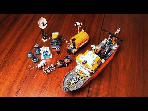 Vidéo LEGO City 60062 : Le brise-glace arctique