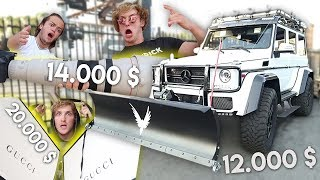 TOP 5 stupid EXPENSIVE things LOGAN PAUL bought