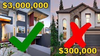 Why it's EASIER to sell a $3,000,000 house vs a $300,000 house