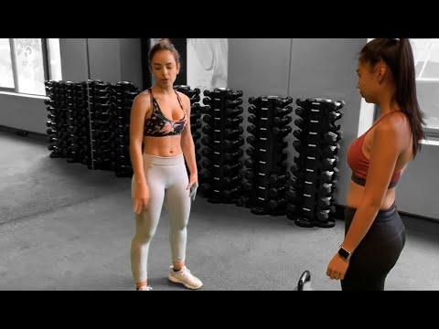 Gym girls cameltoe leggins 1