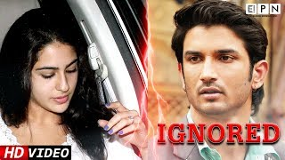 Sara Ali Khan IGNORES Co-Star Sushant Singh Rajput | Prime Bollywood | EPN
