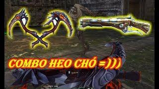 """Hell Sickle kết hợp với Cerberus chó 3 đầu """" Truy Kích VN """""""