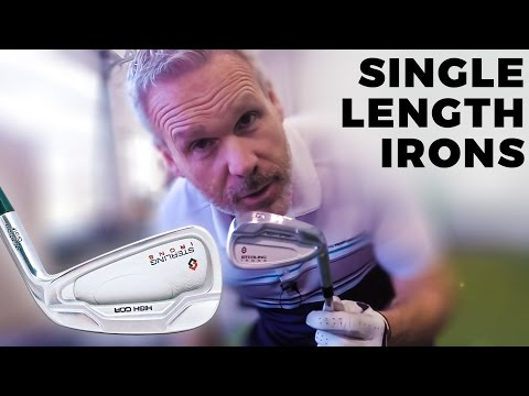 WISHON STERLING SINGLE LENGTH IRONS REVIEW | Wisdom in Golf