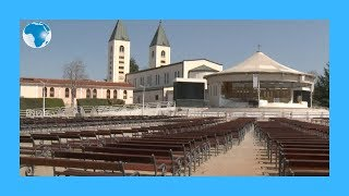 Coronavirus: Empty of pilgrims, Bosnia's  miracle sanctuary becomes