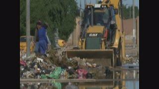 حملة موسعة لرفع النفايات في الكوت