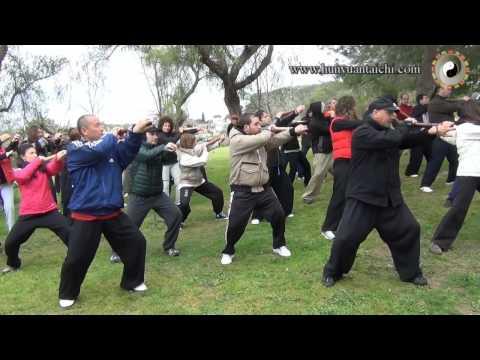 Qigong con los bastones cortos