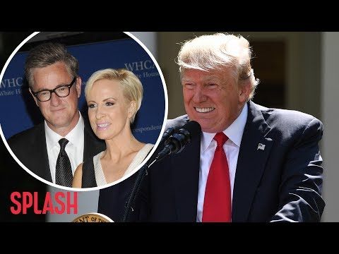 President Trump Slams MSNBC's Mika Brzezinski with Twitter Shot | Splash News TV