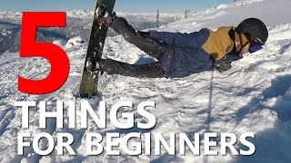 #9 Snowboard begginer – Important things begginer snowboarders need to know