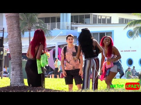 TRY TO FIND THE BEST AMERICAN PUSSY IN MIAMI !! NEW PRANK !!