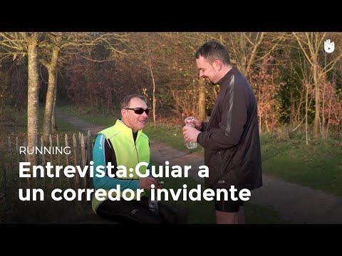 Entrevista a un guía de corredores invidentes | Running