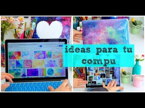 Ideas para tu computadora! DIY | Dani Hoyos Art